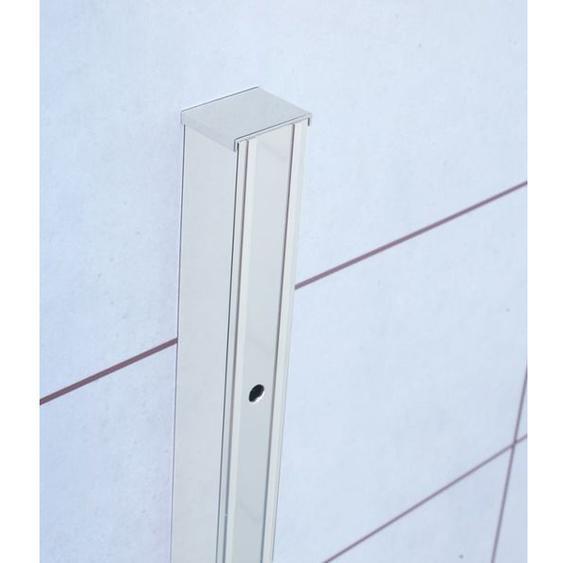 Royal Plaza Barra profilé délargissement 25cm pour porte pivotante ou pliante chrome 79559