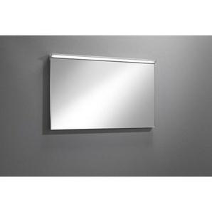 Royal Plaza Freya Miroir 60x60cm avec éclairage LED et réglage dintensité argent 80387