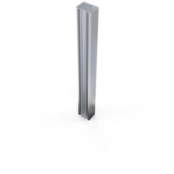 Royal Plaza Guard Profilé pour niche et porte coulissante Chrome