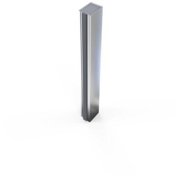 Royal Plaza Guard Profilé pour niche et porte pivotante avec paroi fixe Chrome
