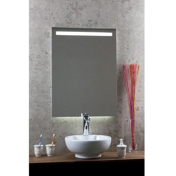 Royal plaza Murino miroir 120x80cm led au-dessus, ambilight en-dessous et capteur 82728