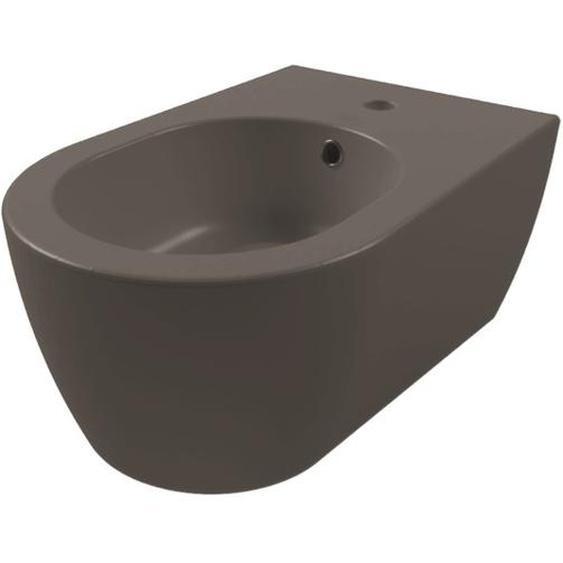 Royal Plaza Novia Bidet suspendu avec trop-plein 1 trou de robinet Cendre