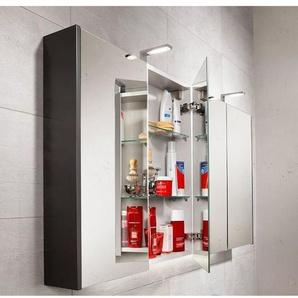 Royal plaza Revera armoire miroir 70cm et 2 portes 33554