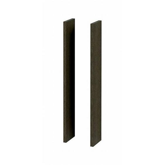 Royal plaza Revera set de parois latérales pour armoire miroir 14x74cm frêne blanc 21242