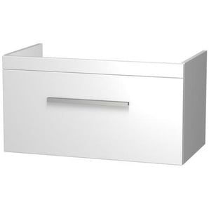 Royal Plaza Sidney Meuble sous lavabo avec tiroir 82.5x44cm Blanc laqué 58253