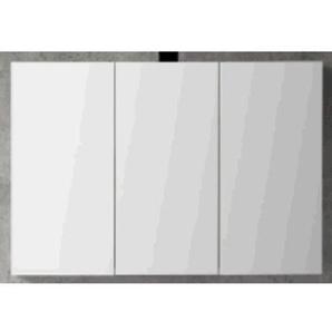 Royal Plaza Talis Armoire de toilette 120x60.5cm avec 3 portes chêne foncé 33257
