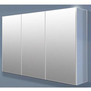 Royal plaza Timothy armoire miroir 120cm avec 3 portes gris 67039