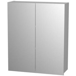 Royal plaza Timothy armoire miroir 80cm avec 2 portes gris 67052