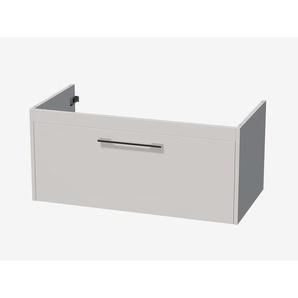 Royal plaza Timothy meuble sous lavabo 101x49.5cm avec 1 tiroir blanc laqué 66679