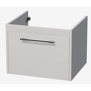 Royal plaza Timothy meuble sous lavabo 61cm avec 1 tiroir blanc laqué 69803
