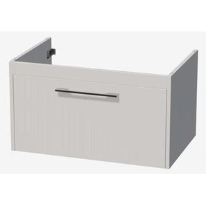 royal plaza Timothy meuble sous lavabo 81cm avec 1 tiroir blanc laqué 70025