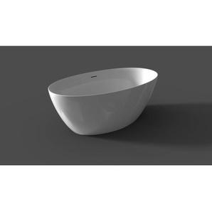 Saniclass Bruno Baignoire îlot 170x82cm acrylique avec siphon Blanc BD23005 - Beta
