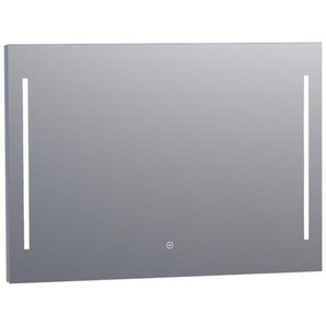 Saniclass Deline Miroir 100x70cm avec éclairage aluminium 3865s