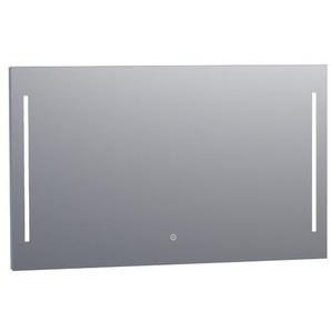 Saniclass Deline Miroir 120x70cm avec éclairage aluminium 3866s