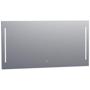 Saniclass Deline Miroir 140x70cm avec éclairage aluminium 3896s