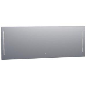 Saniclass Deline Miroir 200x70cm avec éclairage aluminium 3977s