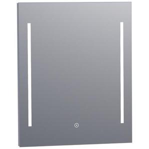Saniclass Deline Miroir 60x70cm avec éclairage aluminium 3863s