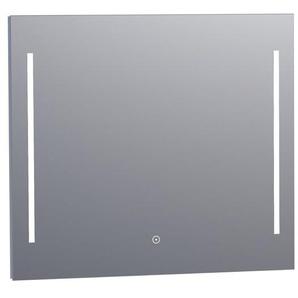 Saniclass Deline miroir 80x70cm avec éclairage aluminium 3864s