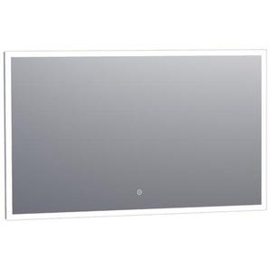 Saniclass Edge Miroir 120x70cm avec éclairage LED réglable et interrupteur tactile Aluminium 3965s