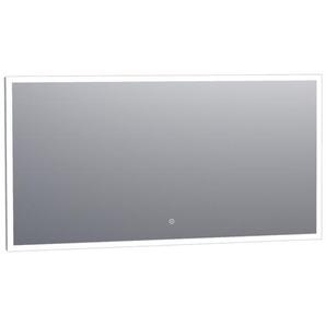 Saniclass Edge Miroir 140x70cm avec éclairage LED réglable et interrupteur tactile Aluminium 3895s
