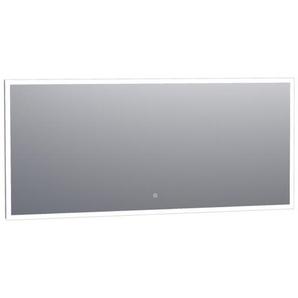 Saniclass Edge Miroir 160x70cm avec éclairage LED réglable et interrupteur tactile Aluminium 3970s