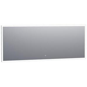 Saniclass Edge Miroir 180x70cm avec éclairage LED réglable et interrupteur tactile Aluminium 3980s