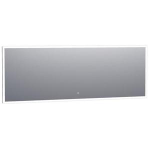 Saniclass Edge Miroir 200x70cm avec éclairage LED réglable et interrupteur tactile Aluminium 3975s
