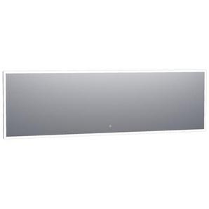 Saniclass Edge Miroir 240x70cm avec éclairage LED réglable et interrupteur tactile Aluminium 3978s