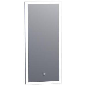 Saniclass Edge Miroir 36x80cm avec éclairage LED réglable et interrupteur tactile Aluminium 3949s