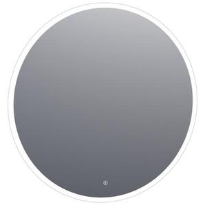 Saniclass Edge Miroir rond 100cm avec éclairage LED réglable et interrupteur tactile Aluminium 3990-100s