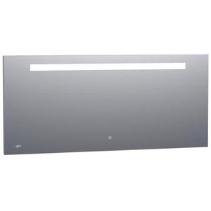 Saniclass Exclusive Line Clock Miroir 160x70cm avec éclairage et horloge aluminium 3891s