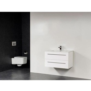 Saniclass Exclusive Line Kera meuble 80cm Blanc