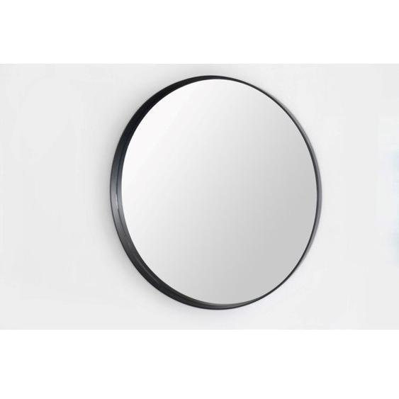 Saniclass Exclusive Line Miroir rond 100cm cadre noir JB3000-100