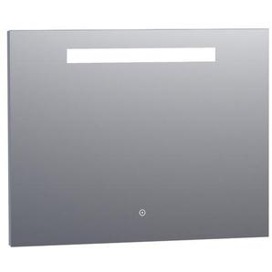Saniclass Miroir 90x70cm avec éclairage Aluminium 38881s