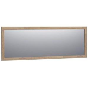 Saniclass Natural Wood Miroir 200x70x1.8cm rectangulaire assemblage à dents de scie grey oak 30099