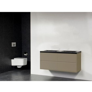 Saniclass New Future Corestone13 Meuble salle de bains 120cm sans miroir taupe
