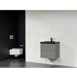 Saniclass New Future XXS Corestone Vasque meuble 60cm sans miroir gris