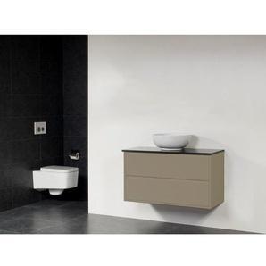 Saniclass New Future XXS Kos Vasque meuble 100cm sans miroir taupe