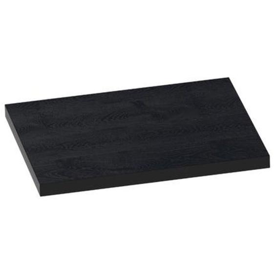 Saniclass Plan vasque MFC 60 Black Wood (36mm) 2436-36