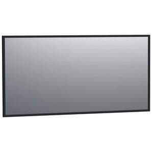 Saniclass Silhouette Miroir 139x70cm noir aluminium 3506