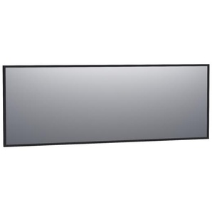 Saniclass Silhouette Miroir 199x70cm noir aluminium 3508