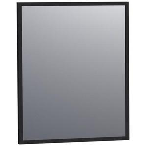 Saniclass Silhouette Miroir 58x70cm noir aluminium 3502