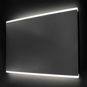 Saniclass Twinlight Miroir 80x70cm avec éclairage aluminium 3408s