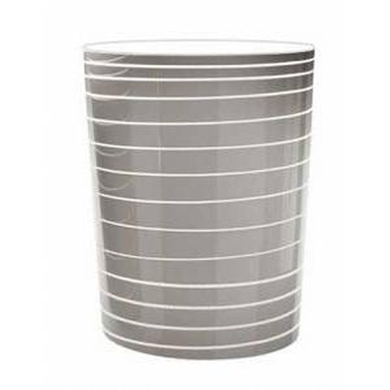 SERRALUNGA vase GRAND JANE avec lumière (Blanc - LLDPE laqué)