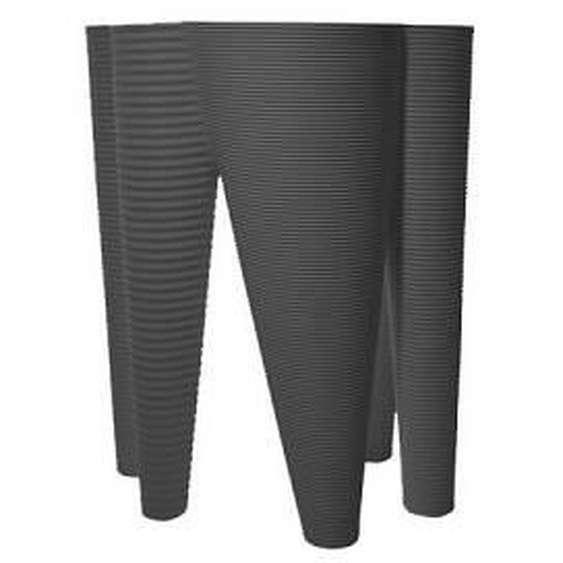 SERRALUNGA vase THE VASES (Anthracite - LLDPE)
