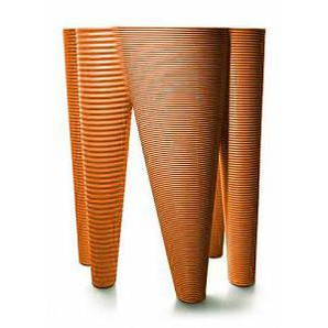 SERRALUNGA vase THE VASES (Orange - LLDPE)