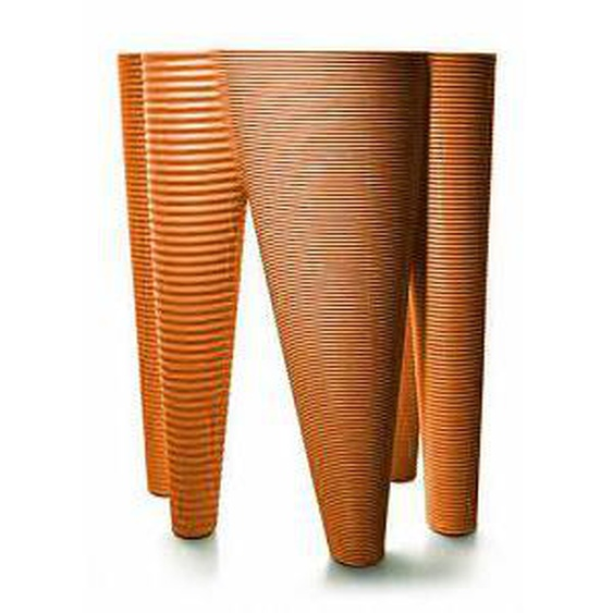 SERRALUNGA vase THE VASES (Orange - LLDPE)