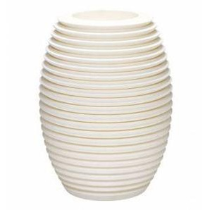 SERRALUNGA vase TOP POT HARD (Blanc - LLDPE)