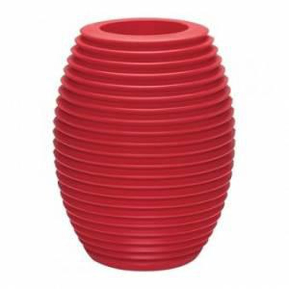 SERRALUNGA vase TOP POT HARD (Rouge - LLDPE)