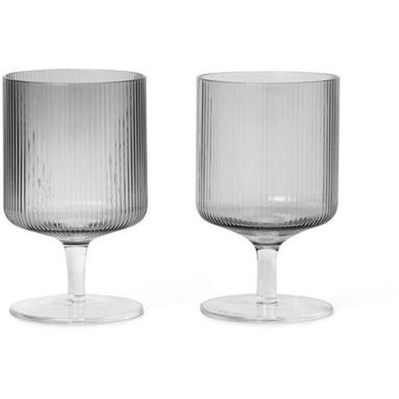 Set de 2 verres à vin RIPPLE